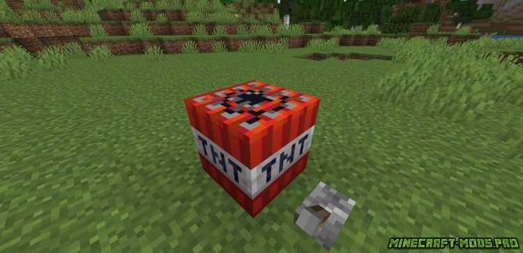 картинка Мод Таймер Взрыва TNT