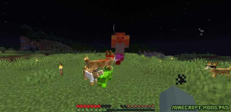 Мод Новые Собаки Защитники скриншот