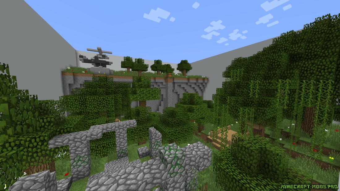 Карта Тантум для Майнкрафт скриншот