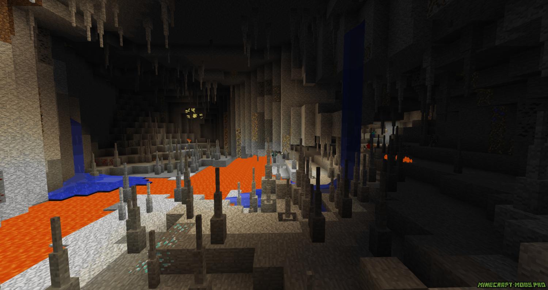 фотография Мод Better Caves Новые Пещеры