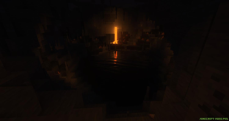 скрин Мод Better Caves Новые Пещеры