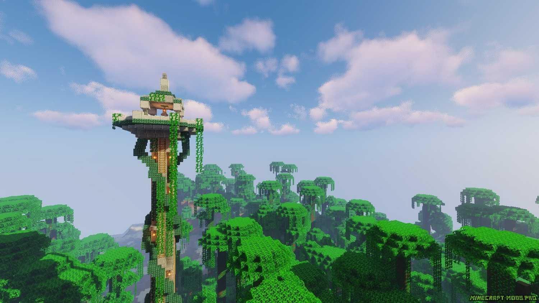 картинка Мод Башни дикой природы