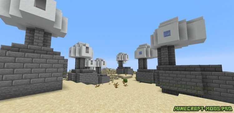 скриншот фото Мод Генератор Сооружений