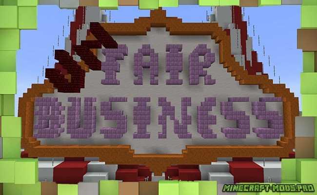 Карта PvP Мини-Игра Не честный Бизнес