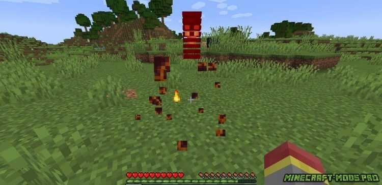 Мод Реалистичное Кровотечение Blood Particles скриншот