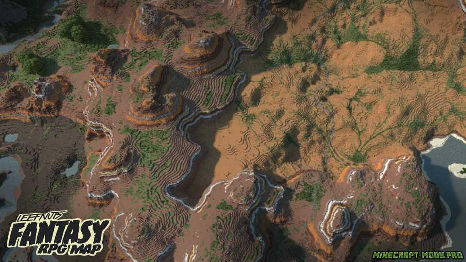фотография Карта Фэнтези-ролевая игра Leefnuts