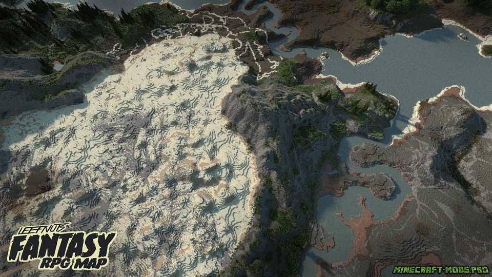 скриншот фото Карта Фэнтези-ролевая игра Leefnuts