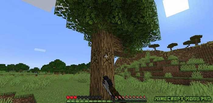 картинка Мод Falling Tree Рубка Деревьев