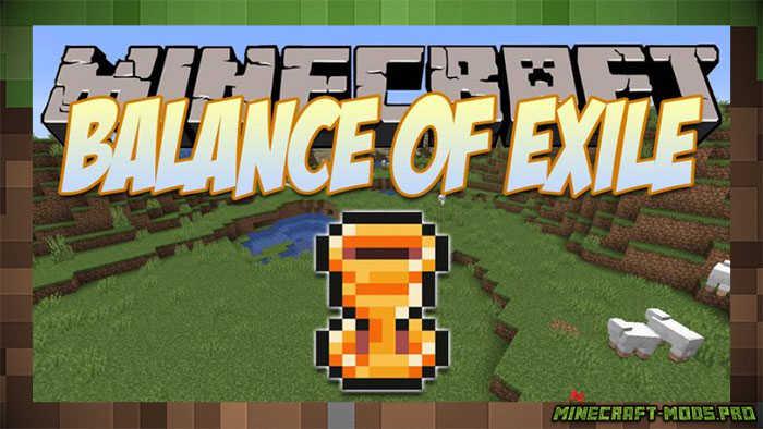 Мод Balance of Exile