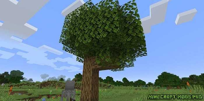 скрин Мод Falling Tree Рубка Деревьев