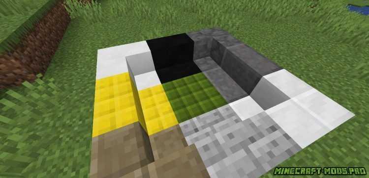 картинка Мод Новые Цветные Блоки