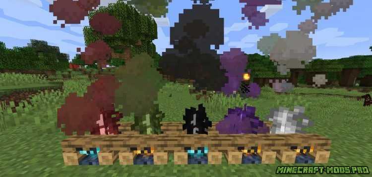 скриншот фото Мод Gubbins - Руды, Предметы