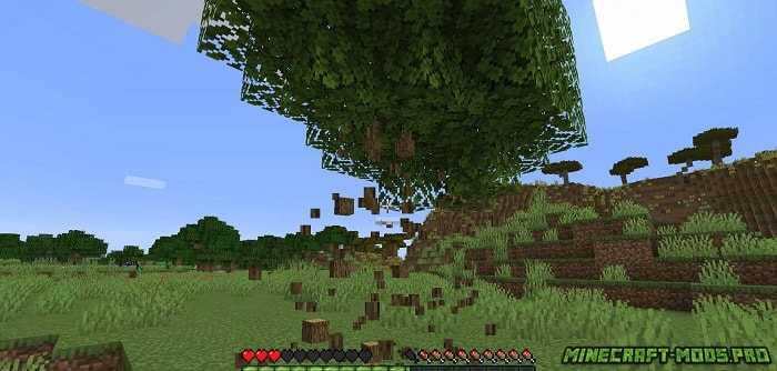 фото Мод Falling Tree Рубка Деревьев