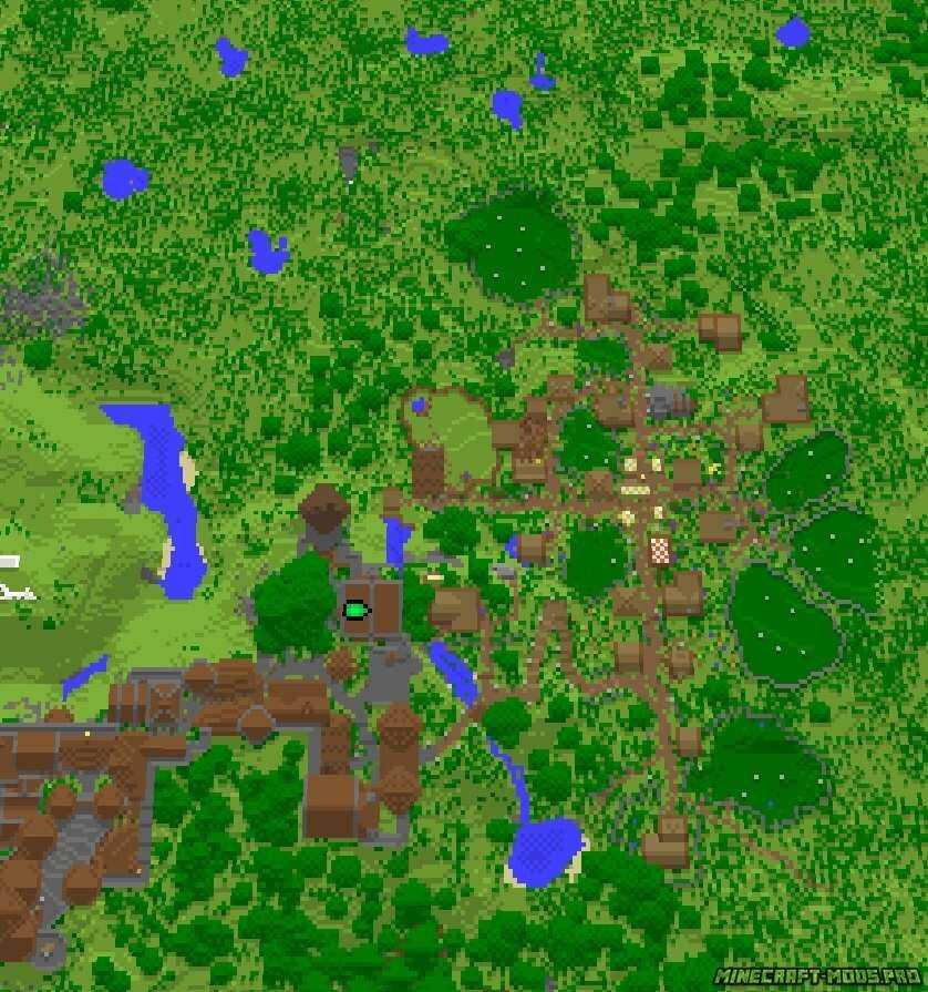 скрин Карта Выживание Замок