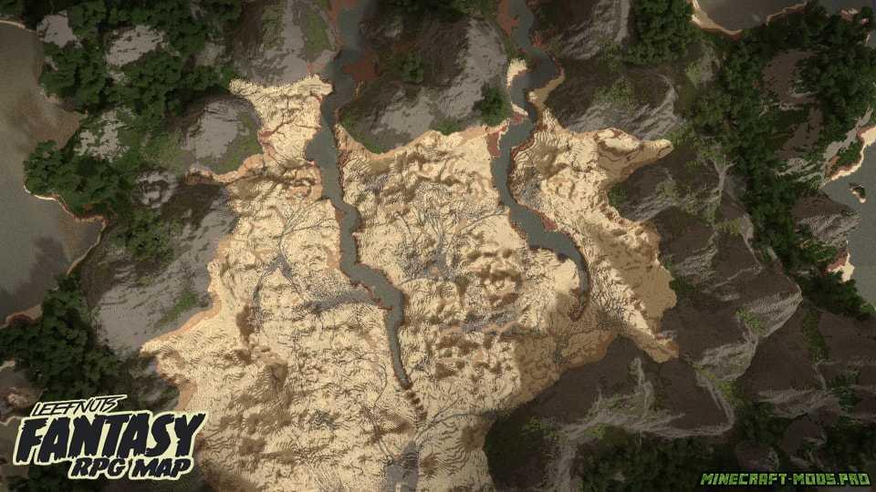 скрин Карта Фэнтези-ролевая игра Leefnuts