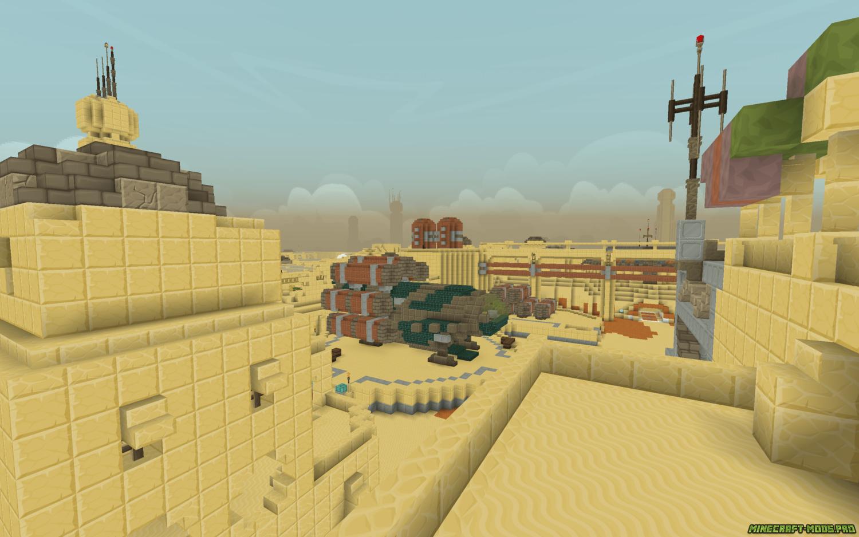 скриншот фото Карта Звездные войны - ТАТУИН