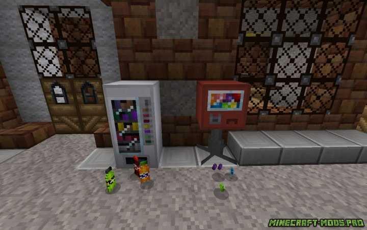 фото Мод Торговые автоматы