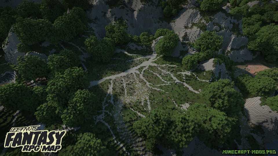 картинка Карта Фэнтези-ролевая игра Leefnuts