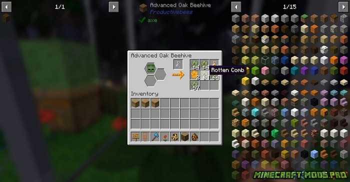 скриншот фото Мод Productive Bees