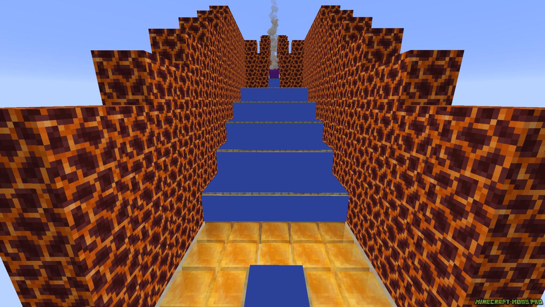 Паркур Карта Медовый прыжок - HoneyJump скриншот