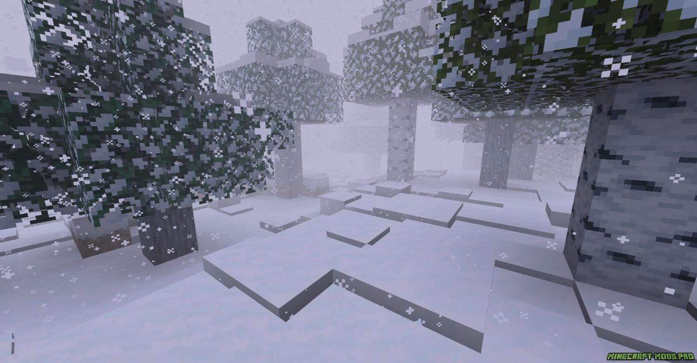 скриншот фото Мод Ледниковый Период