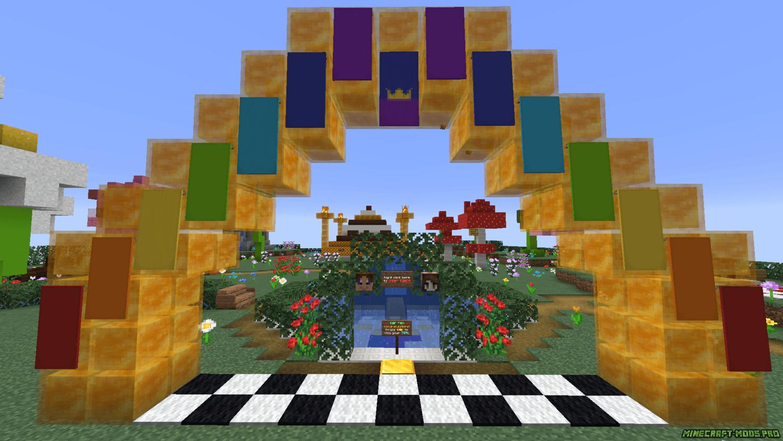 скриншот фото Паркур Карта Медовый прыжок - HoneyJump