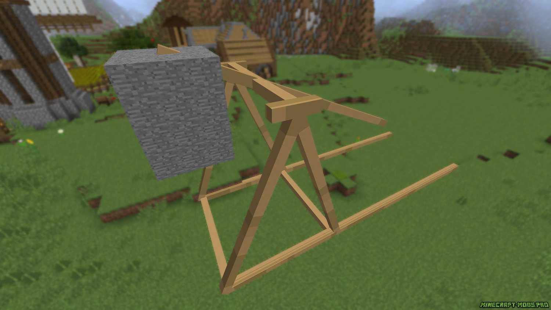 скрин Мод средневековое Оружие