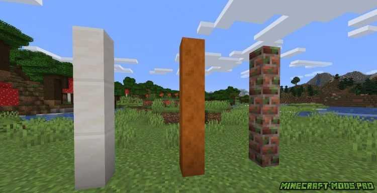 скриншот фото Мод FabricBlocks  Фабрик Блоки