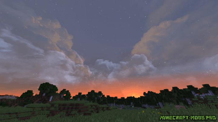 скрин Сборка текстур неба Fancy Skies
