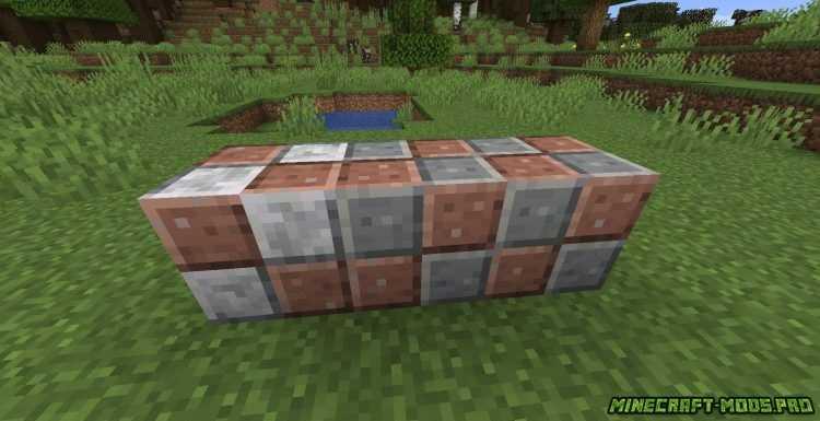 фотка Мод FabricBlocks  Фабрик Блоки