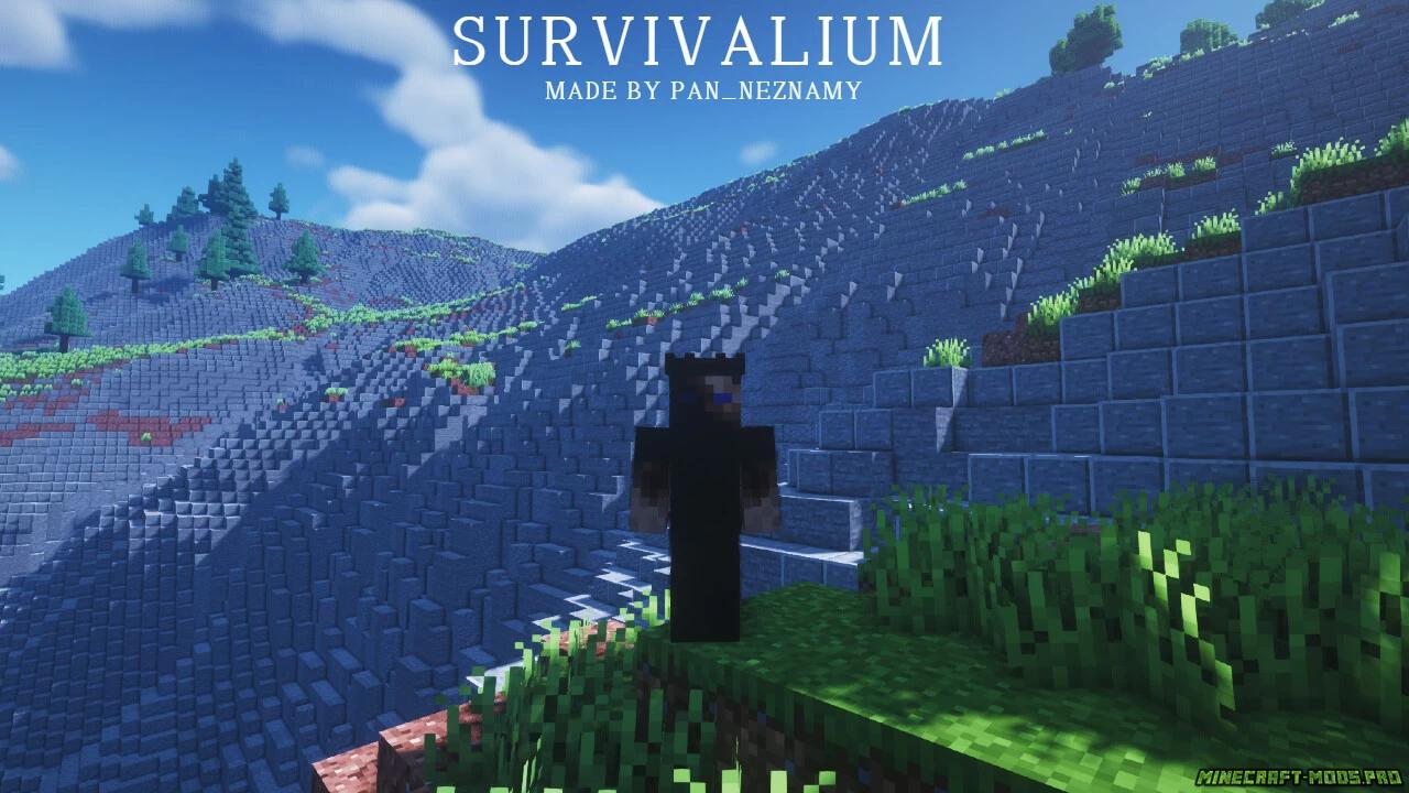 скриншот фото Карта Выживание Survivalium 10кх10к