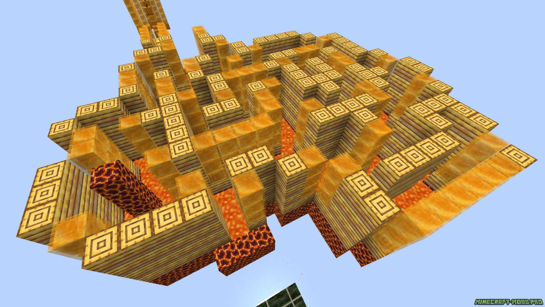 картинка Паркур Карта Медовый прыжок - HoneyJump
