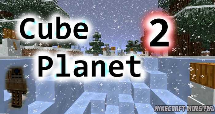 Карта Cube Planet 2