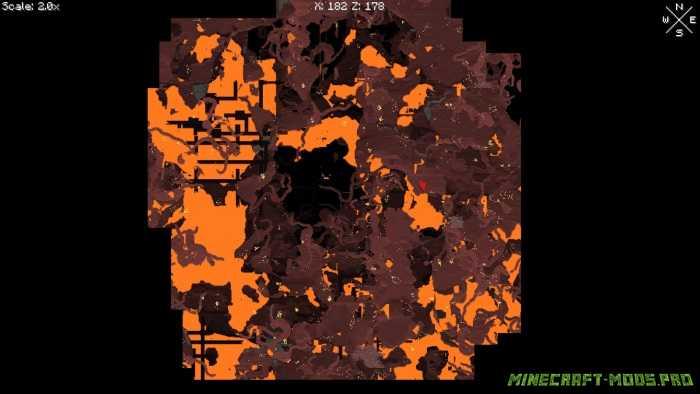 фотография Мод Карта на весь Экран