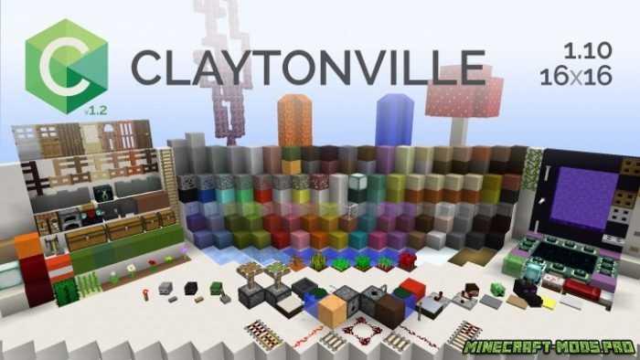Текстур Пак ClaytonVille