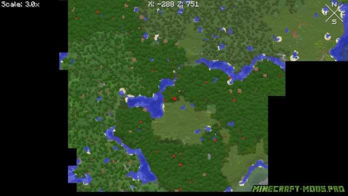 фото Мод Карта на весь Экран