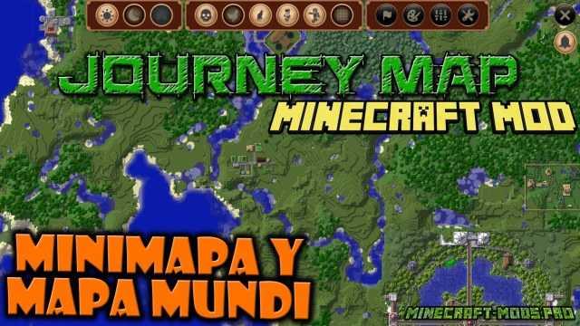 фото Мод мини-карта JourneyMap
