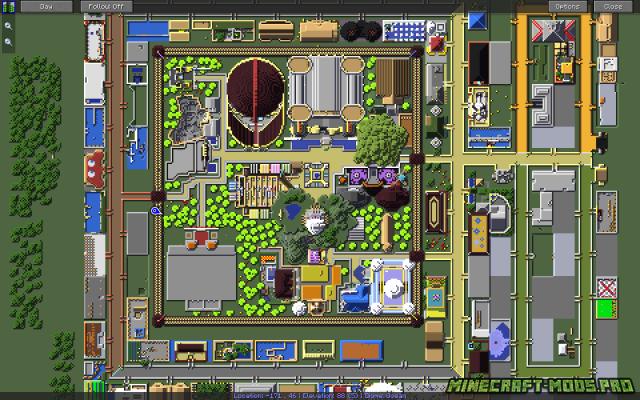 скрин Мод мини-карта JourneyMap