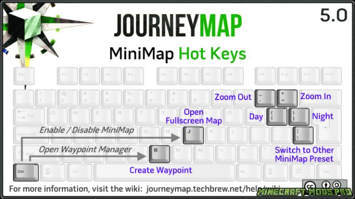 скриншот фото Мод Карта JourneyMap