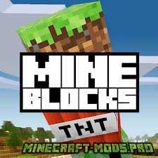Логотип игры Mine Blocks