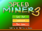 Логотип игры Speed Miner 3
