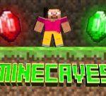 Логотип игры Майнкрафт пещеры