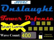 Логотип игры Tower Defense New