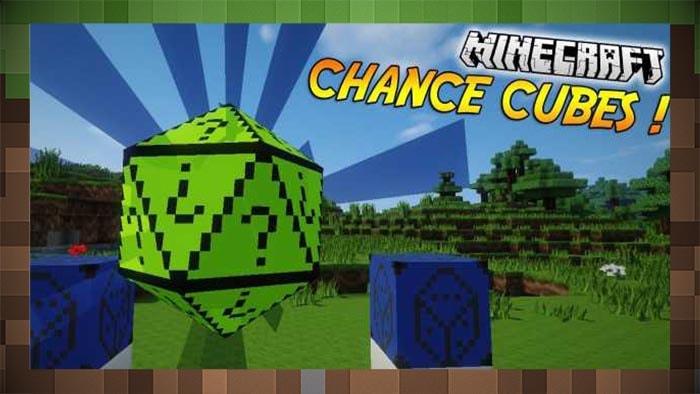 Мод Chance Cubes