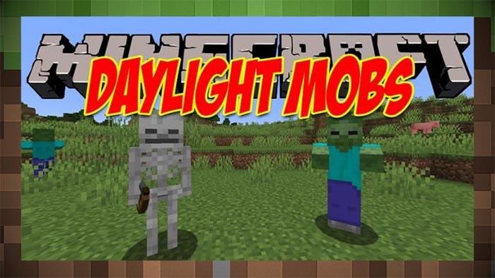 Мод Daylight Mobs