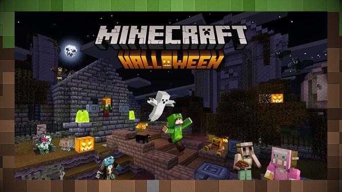 Праздник Хэллоуина в Майнкрафт
