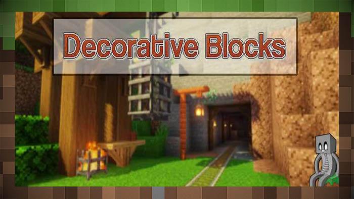 Мод Декоративные блоки