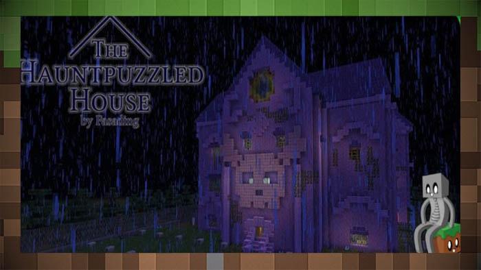 Карта приключение Дом с привидениями