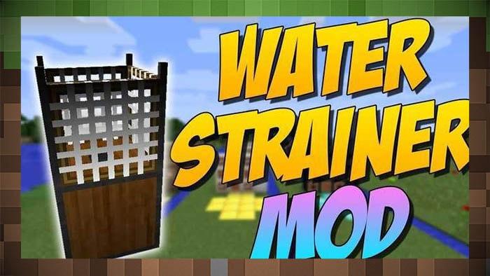 Мод Water Strainer (Сетки)