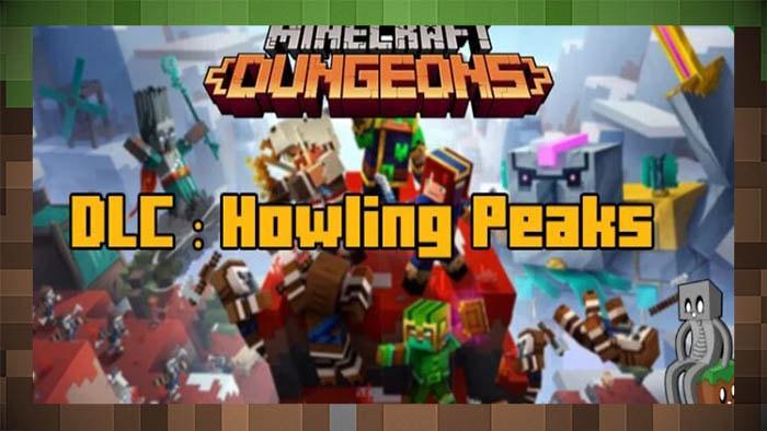 DLC Howling Peaks для Minecraft Dungeons